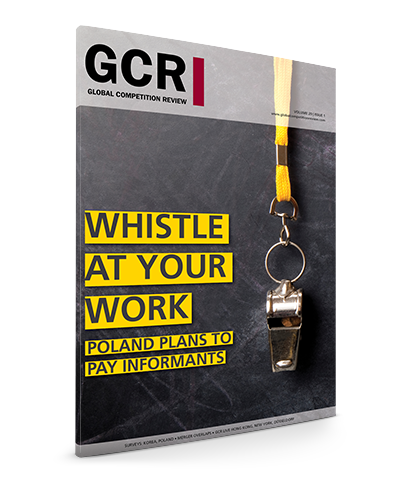 GCR Volume 20 - Issue 1 (December 2016/January 2017)