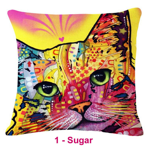 Cat Dream Pillow Covers