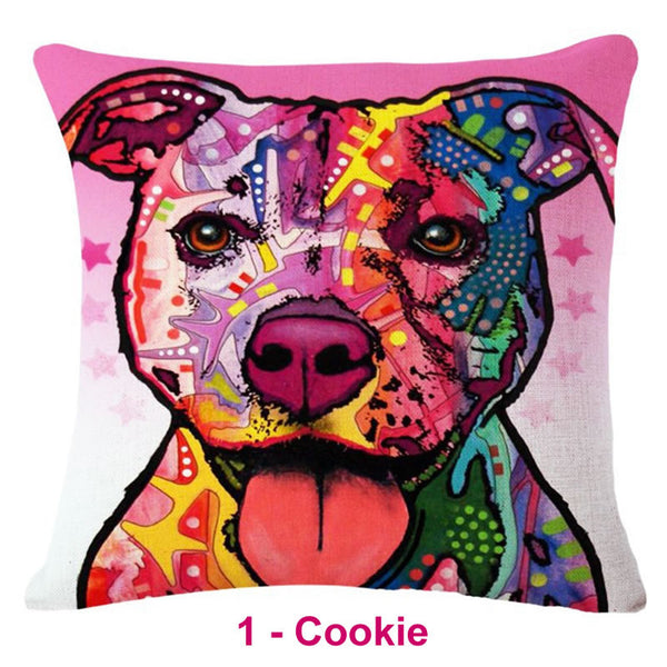 Pit Bull Dream Collection Pillow Covers