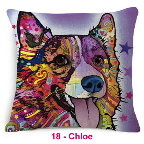 Dog Dream Pillow Covers 2