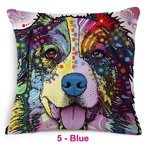 Dog Dream Pillow Covers 1