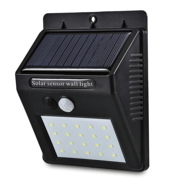 Waterproof LED Solar Power Motion Activated Wall Light Outdoor Home Security