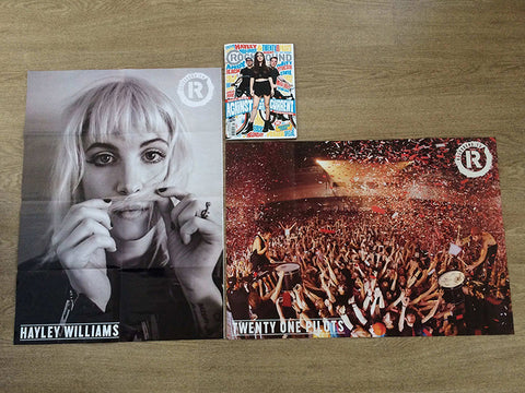 GIANT Twenty One Pilots & Hayley Williams poster FREE