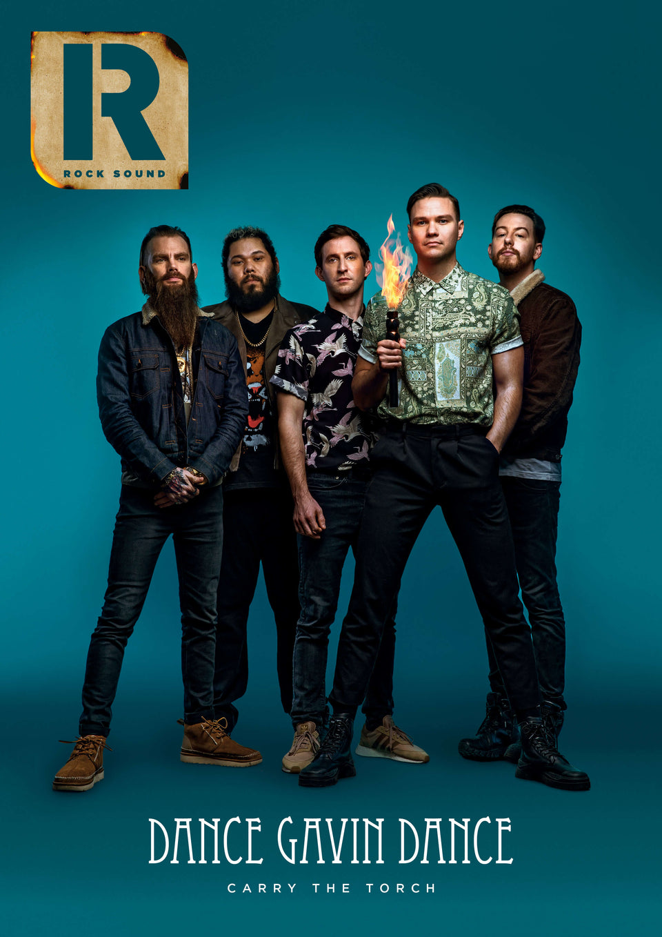Rock Sound Issue 263 - Dance Gavin Dance