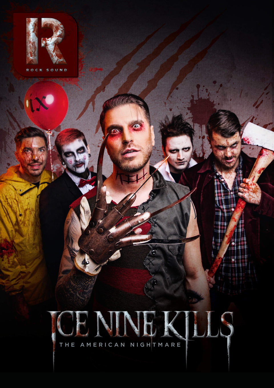 Rock Sound Issue 261 - Ice Nine Kills - Rock Sound Shop