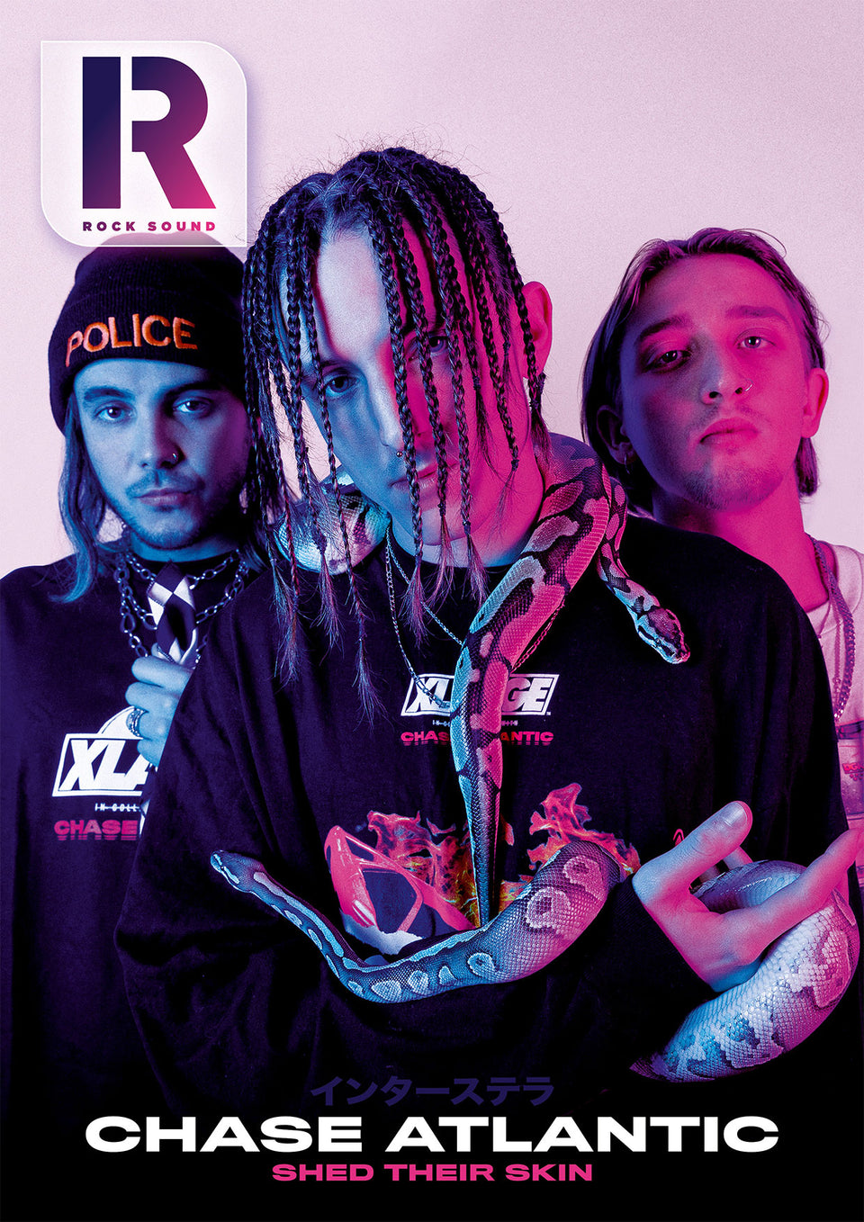 Rock Sound Issue 255 Chase Atlantic - Rock Sound Shop