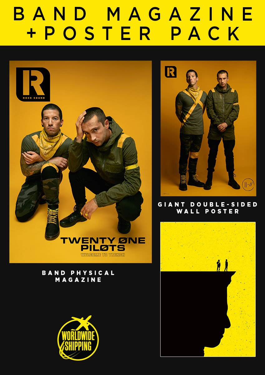 Rock Sound Issue 244.3 - Twenty One Pilots Band Magazine + Poster Pack - Rock Sound Shop
