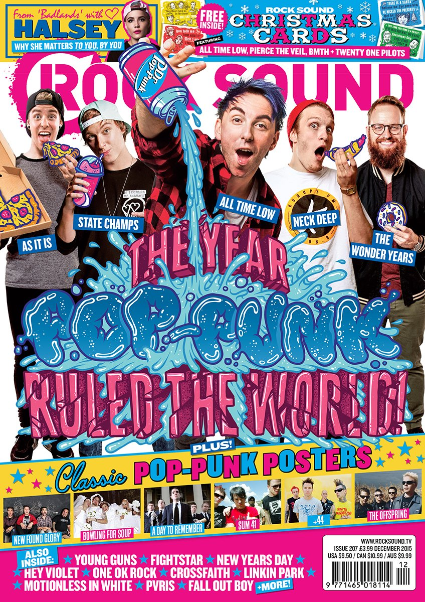 Rock Sound Issue 207 - Pop-Punk - Rock Sound Shop