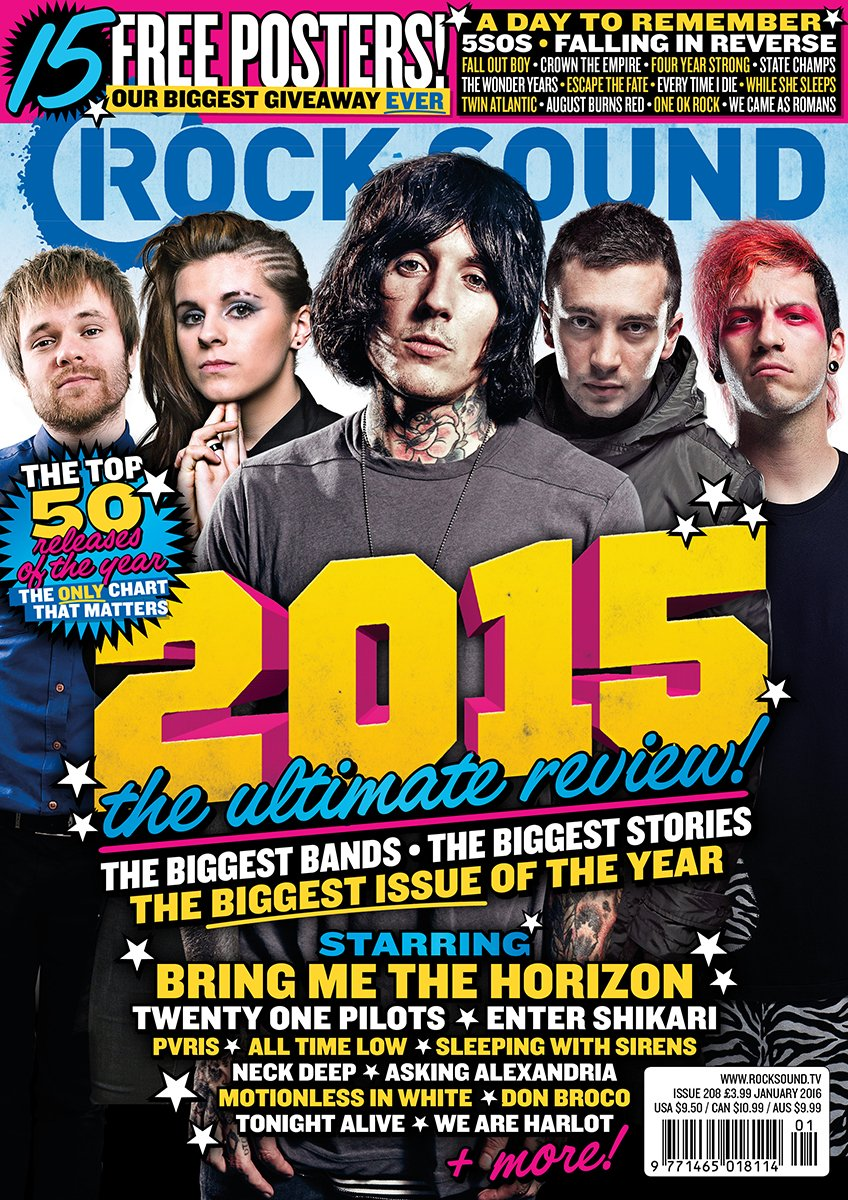 Rock Sound Issue 208 - 2015 Review