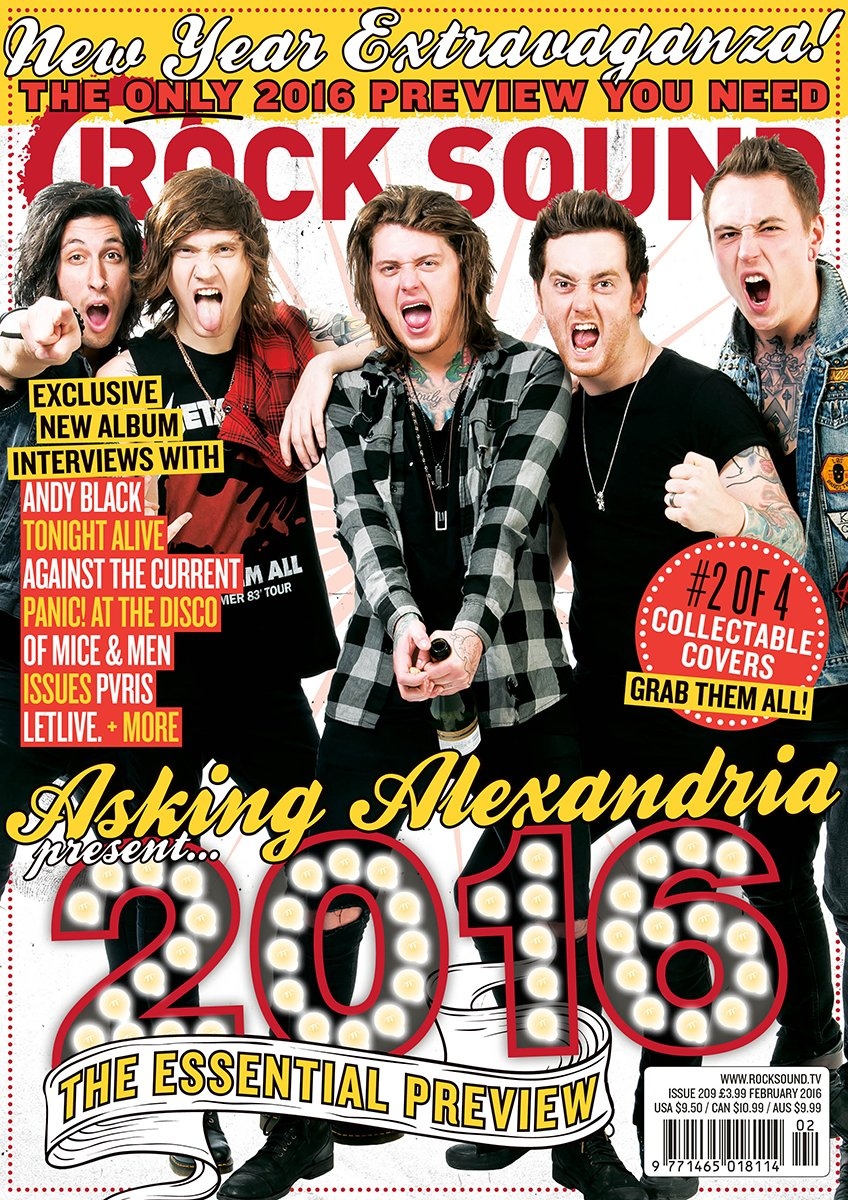 Rock Sound Issue 209.2 - Asking Alexandria - Rock Sound Shop