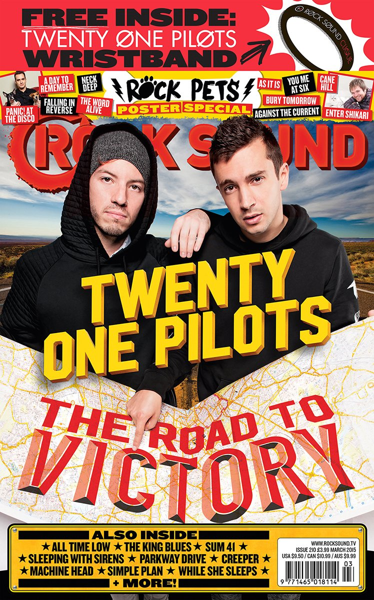 Rock Sound Issue 210 - Twenty One Pilots - Rock Sound Shop