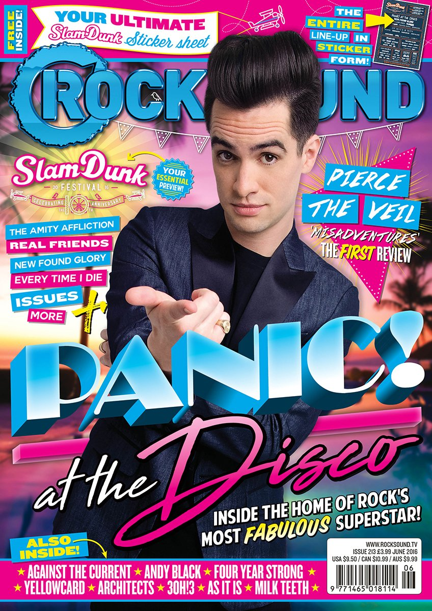 Rock Sound Issue 213 - Panic! At The Disco - Rock Sound Shop