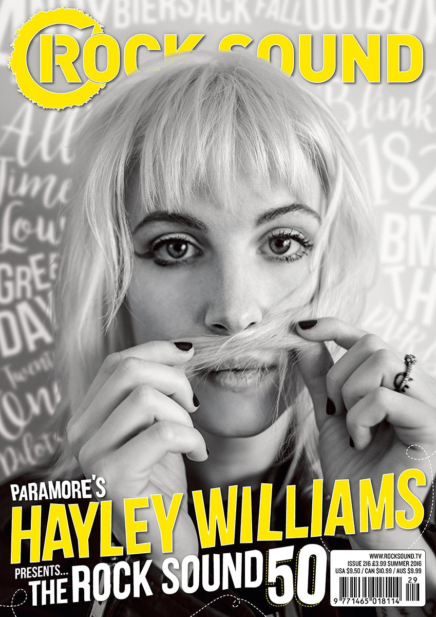 Rock Sound Issue 216 - Hayley Williams