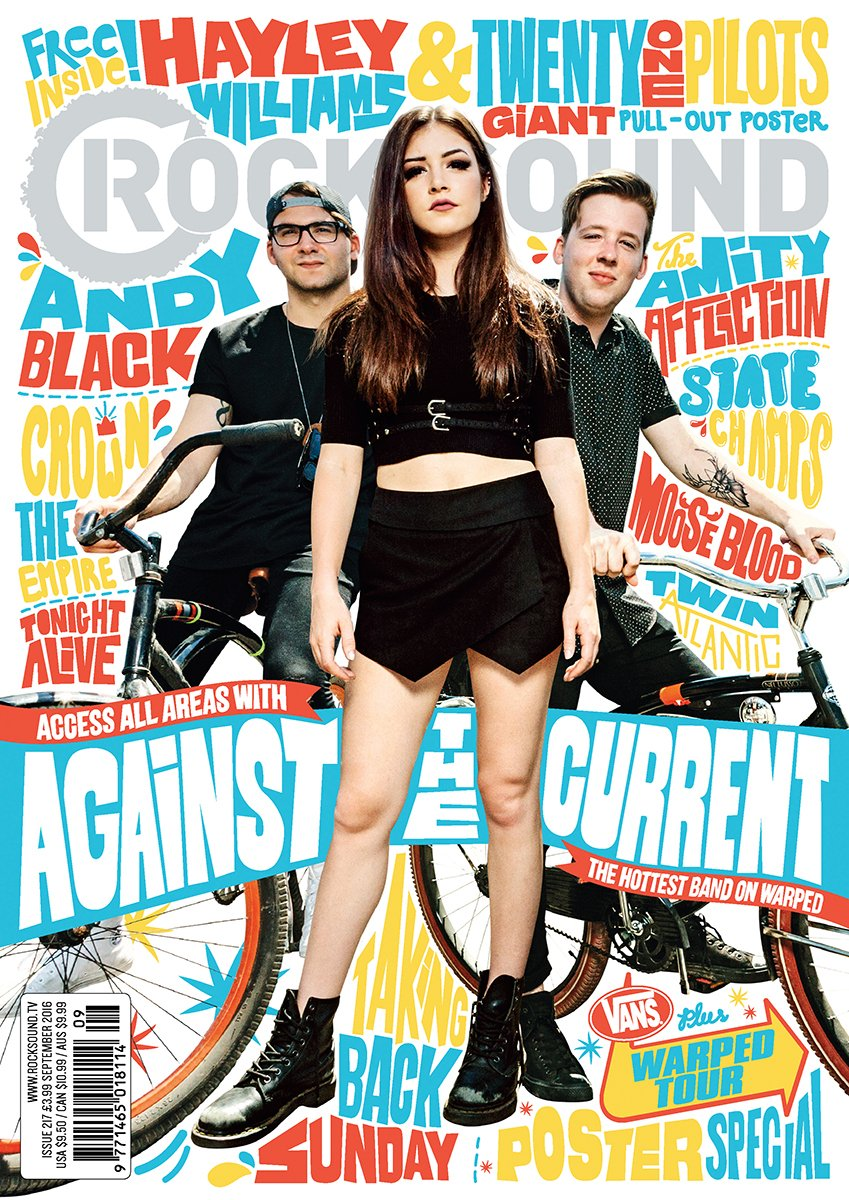 Rock Sound Issue 217 - Against The Current