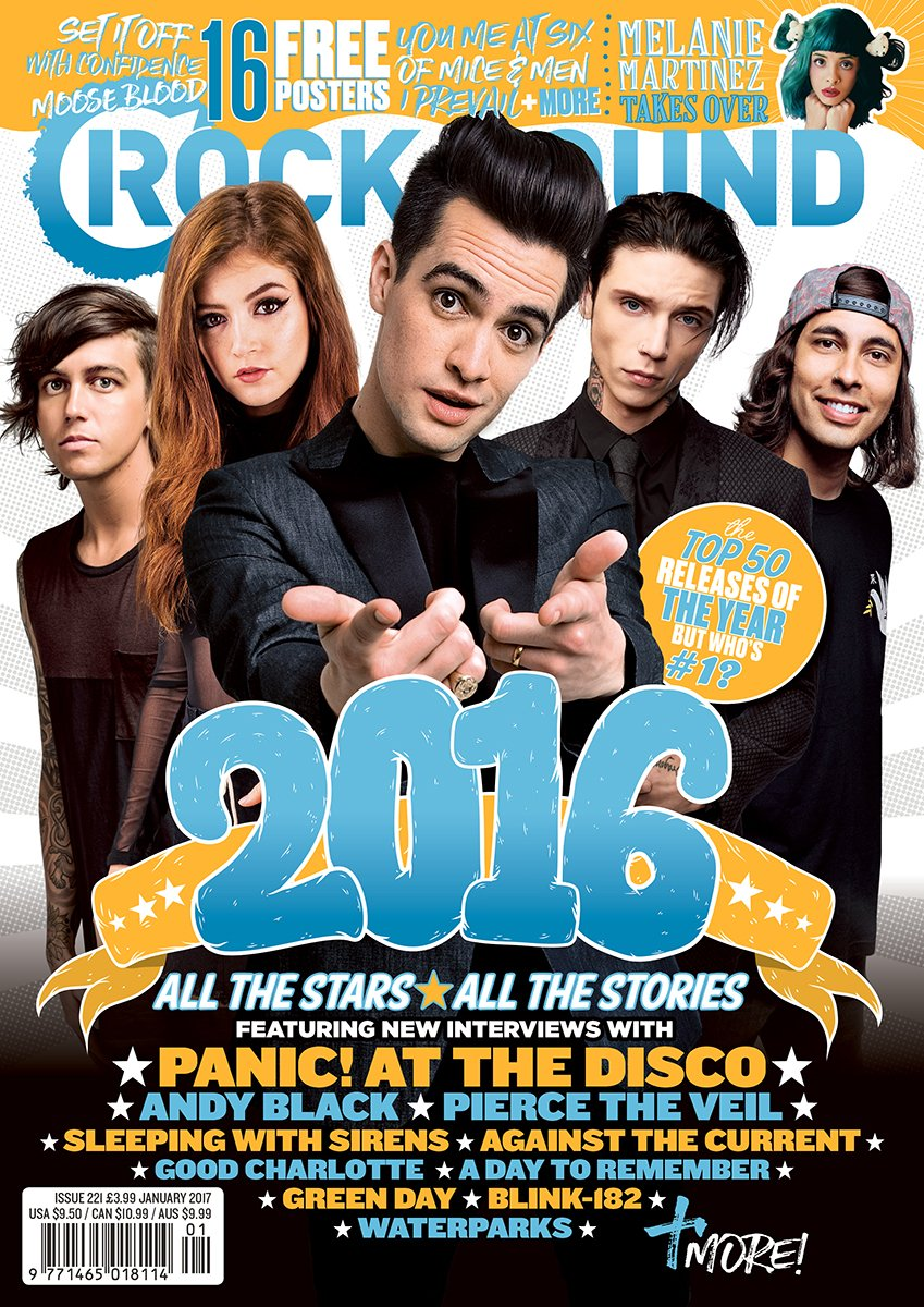 Rock Sound Issue 221 - With A FREE 2017 Calendar - Rock Sound Shop