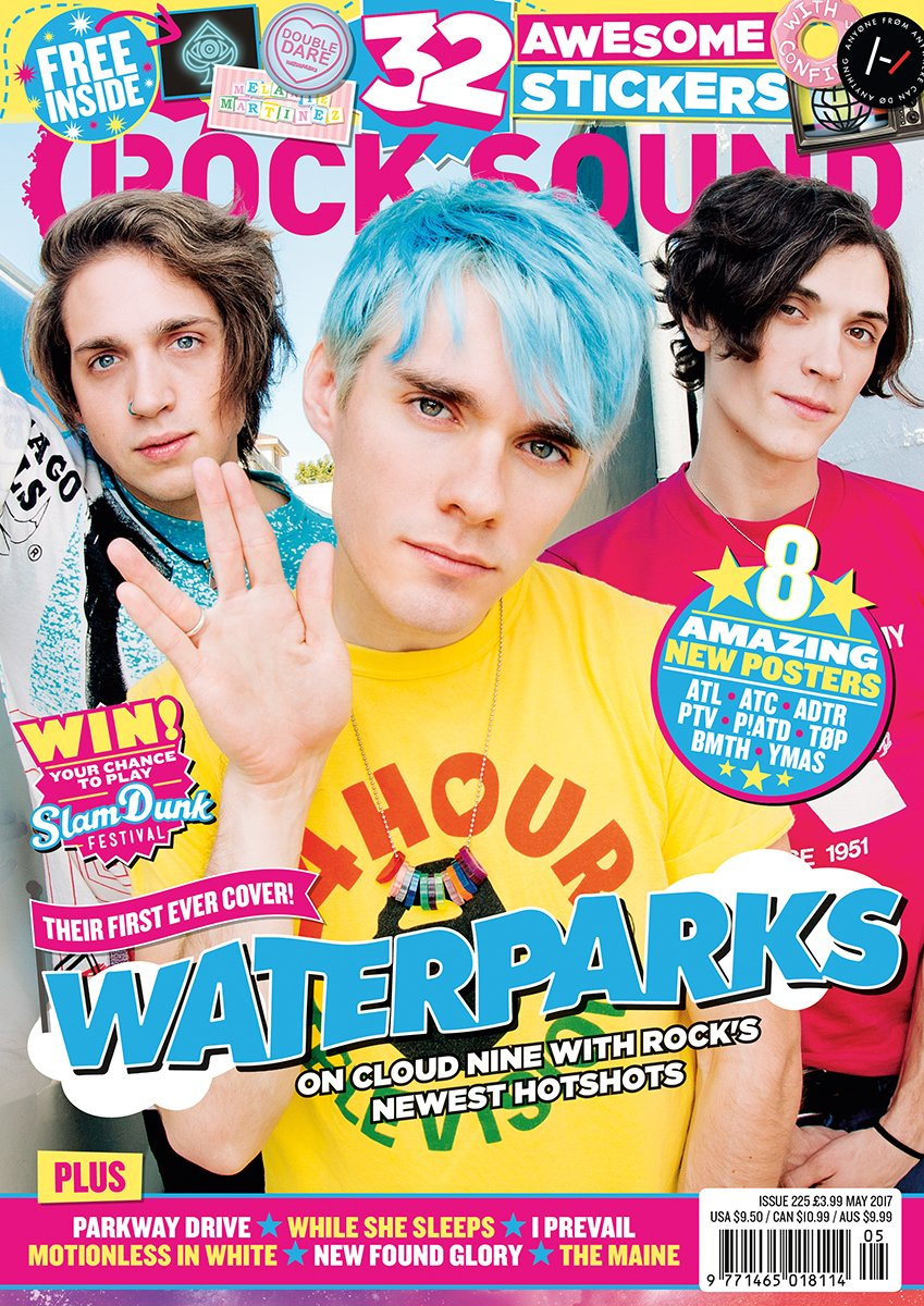 Rock Sound Issue 225.2 - Waterparks + Hand-Signed Poster Bundle