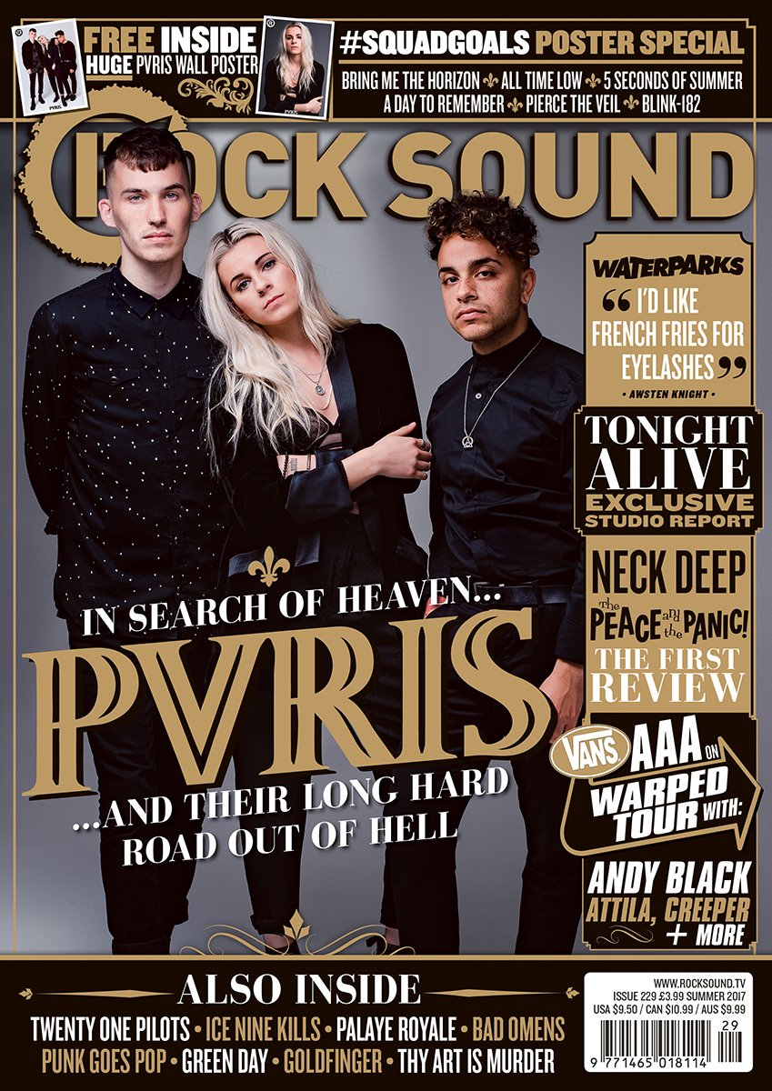 Rock Sound Issue 229.1 - PVRIS