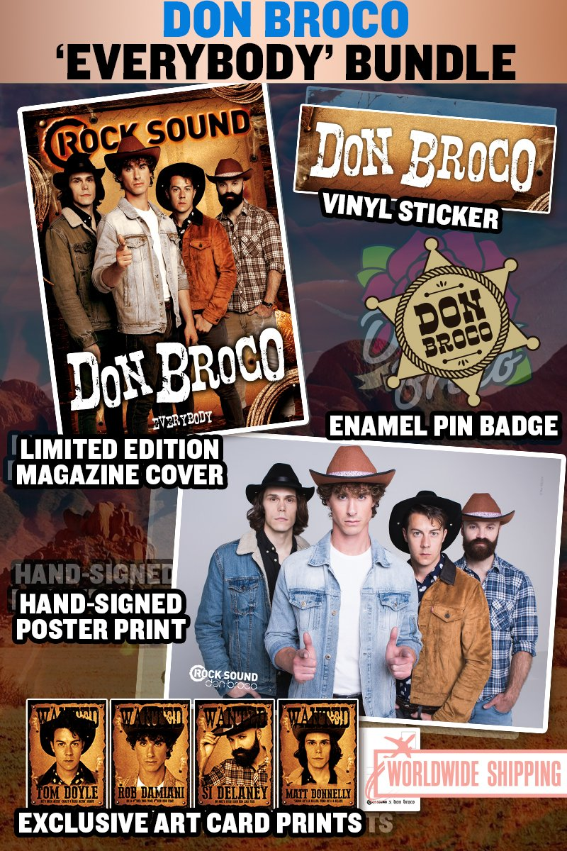 Rock Sound Issue 233.4 - Don Broco Everybody Bundle - Rock Sound Shop