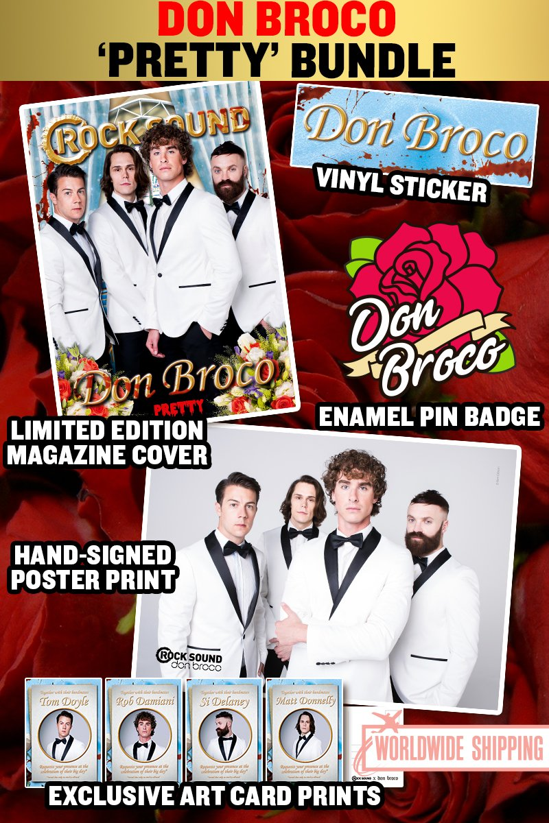 Rock Sound Issue 233.3 - Don Broco Pretty Bundle - Rock Sound Shop
