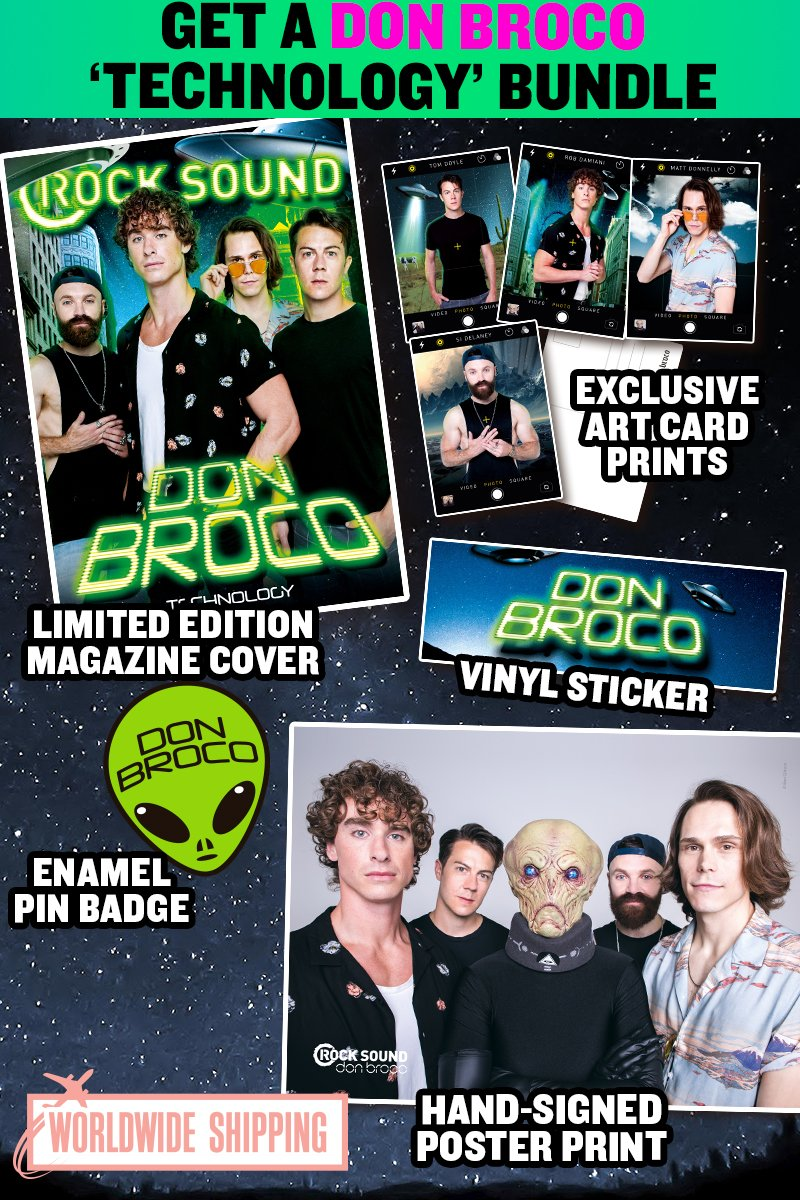 Rock Sound Issue 233.2 - Don Broco Technology Bundle - Rock Sound Shop
