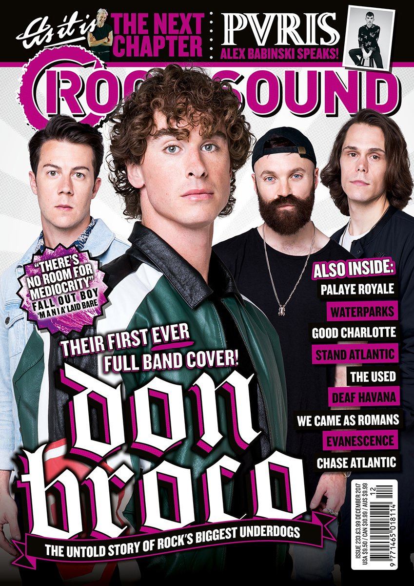 Rock Sound Issue 233.1 - Don Broco - Rock Sound Shop