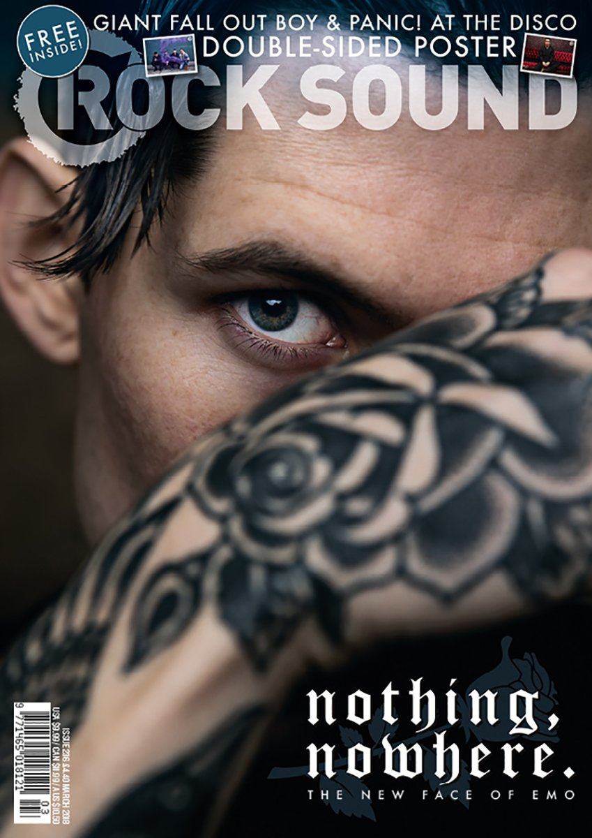 Rock Sound Issue 236.1 - nothing,nowhere. - Rock Sound Shop