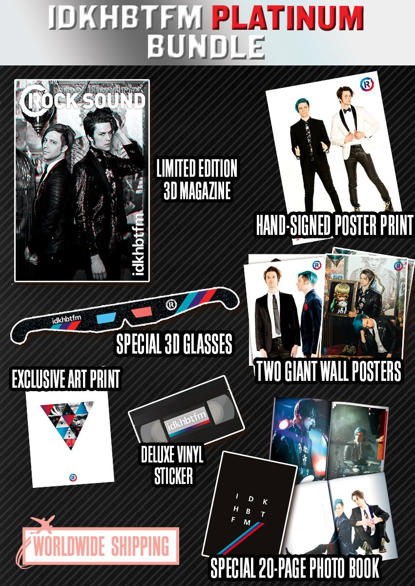 Rock Sound Issue 238.3 - IDKHBTFM Platinum Bundle