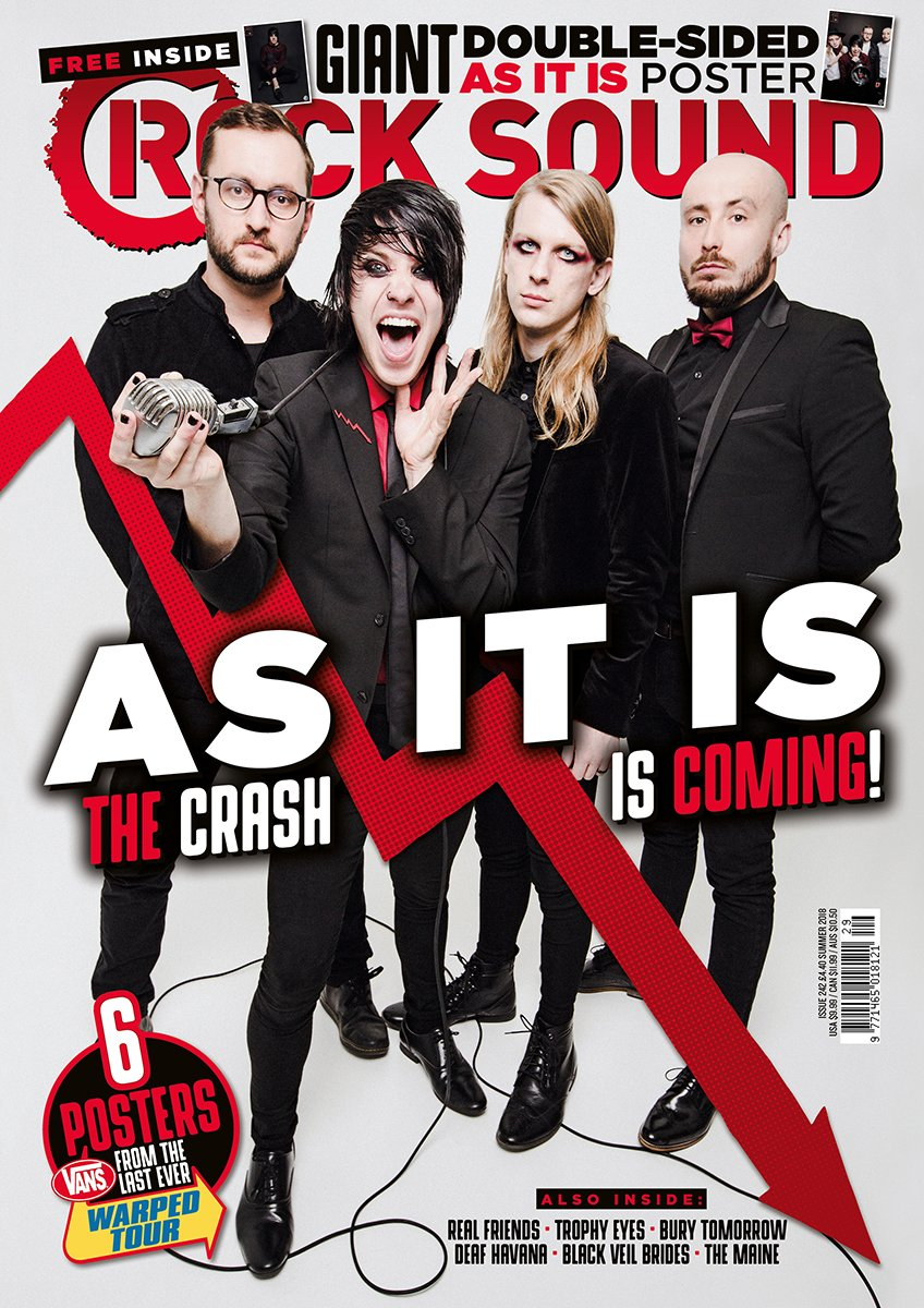 Rock Sound Issue 242 - As It Is - Rock Sound Shop