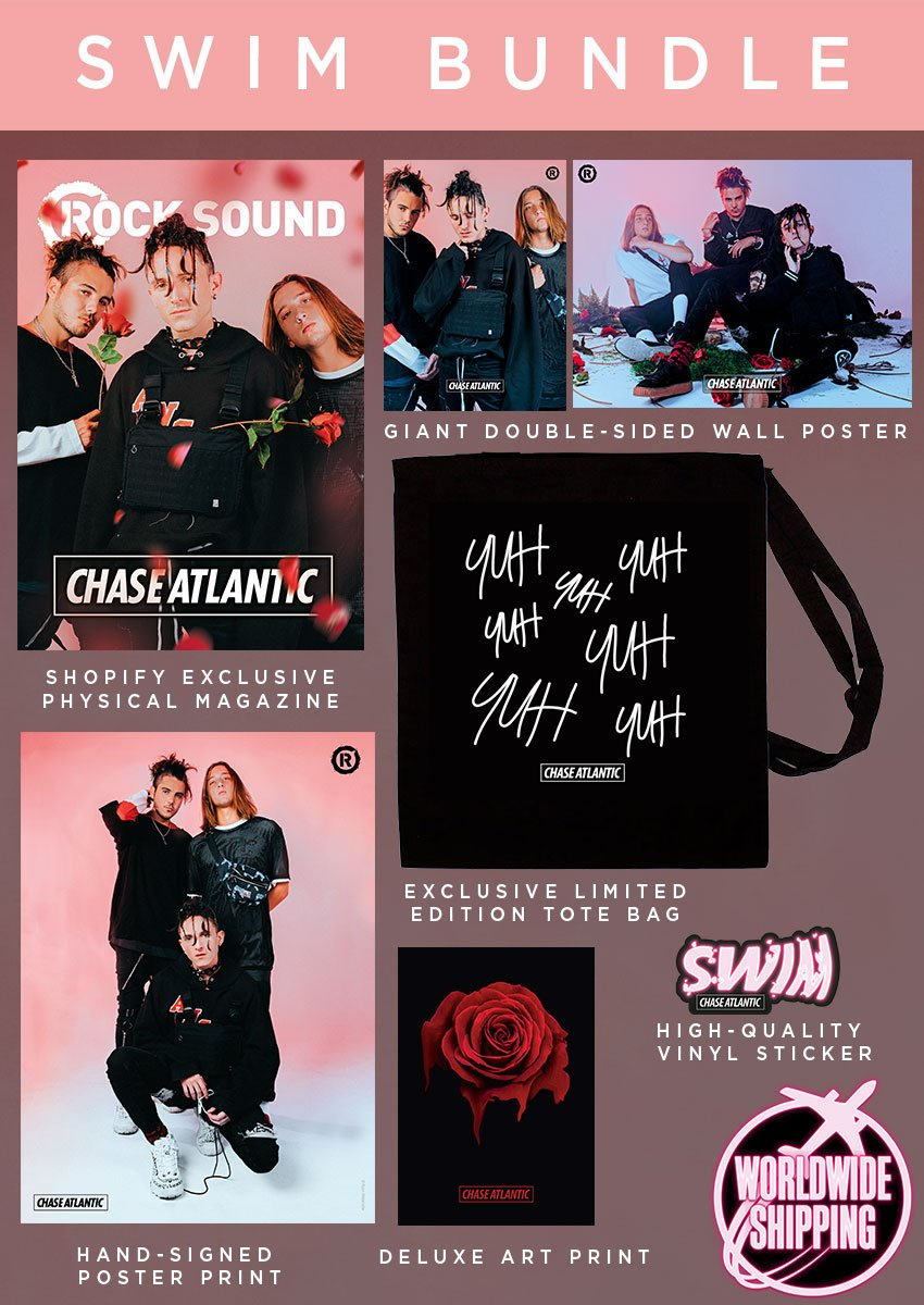 Rock Sound Issue 243.2 - Chase Atlantic Swim Bundle - Rock Sound Shop