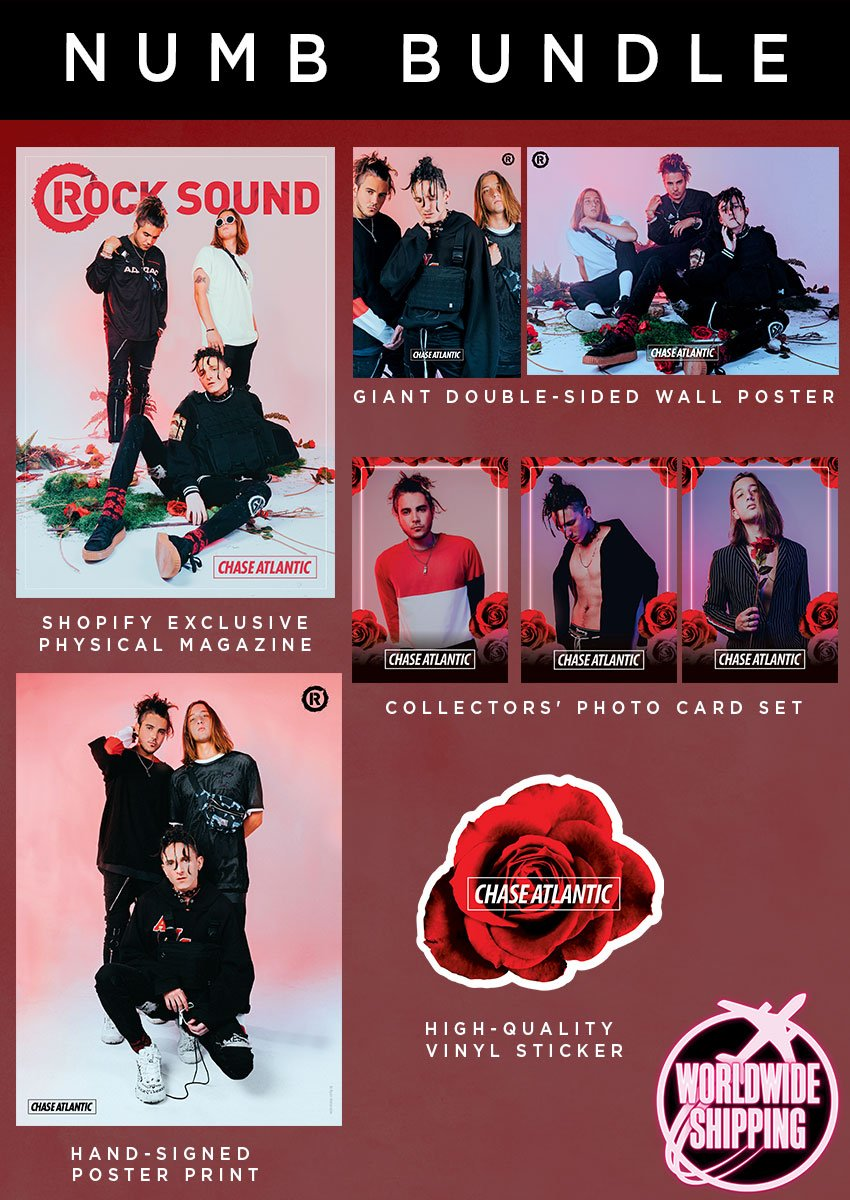 Rock Sound Issue 243.1 - Chase Atlantic Numb Bundle - Rock Sound Shop
