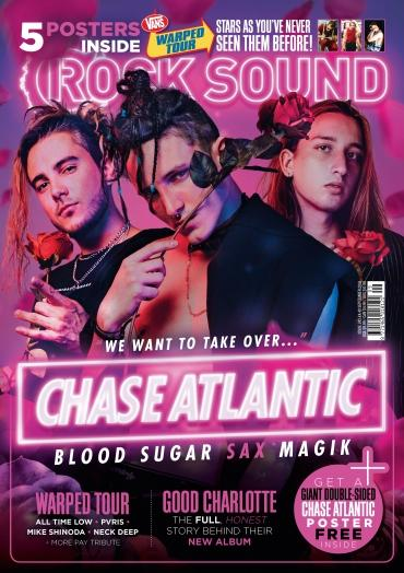 Rock Sound Issue 243 - Chase Atlantic - Rock Sound Shop