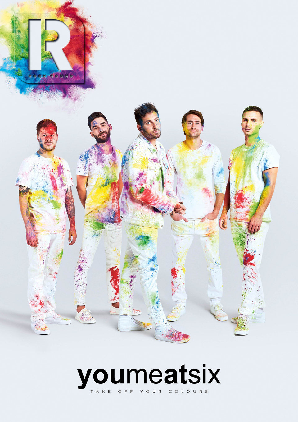 You Me At Six make their long-awaited return to the cover of Rock Sound! To celebrate the tenth birthday of their classic debut album 'Take Off Your Colours',