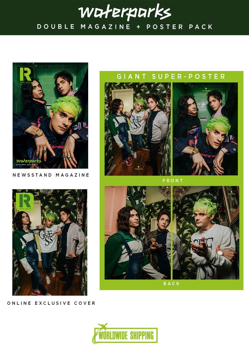 Rock Sound Issue 253.4 - Waterparks Double Magazine + Poster Pack - Rock Sound Shop