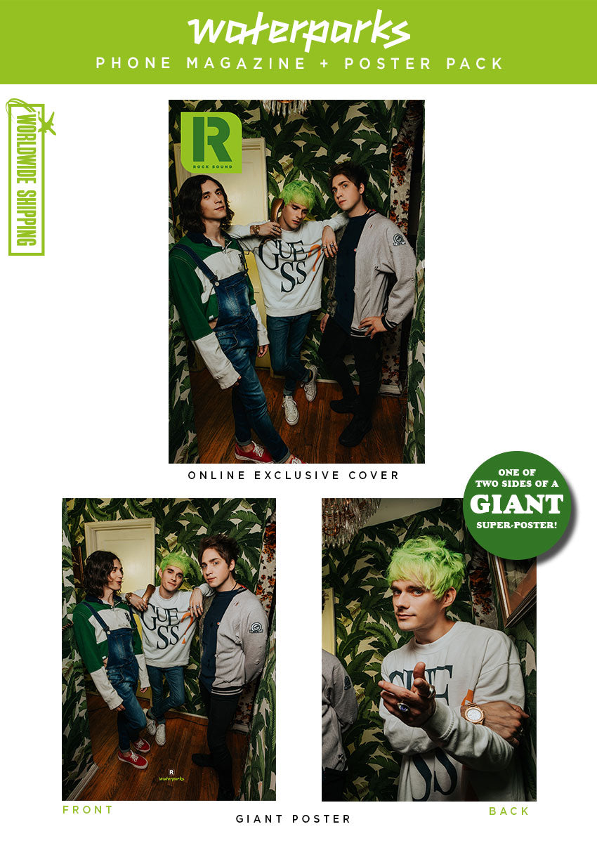 Rock Sound issue 253.2 - Waterparks Phone Magazine + Poster Pack