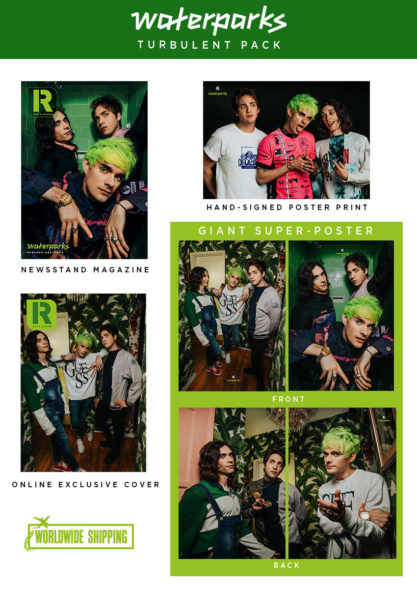Rock Sound Issue 253.3 - Waterparks Turbulent Pack - Rock Sound Shop