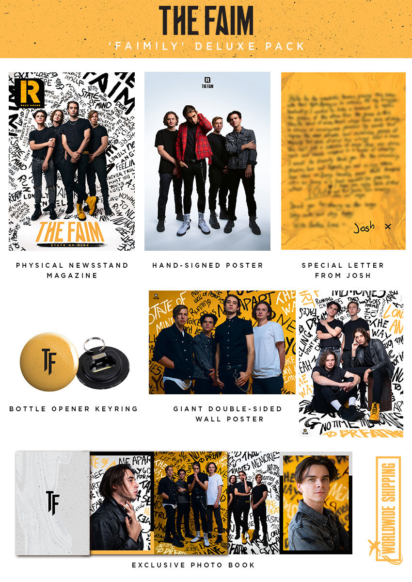 Rock Sound Issue 256.3 - The Faim 'Faimily' Deluxe Pack - Rock Sound Shop
