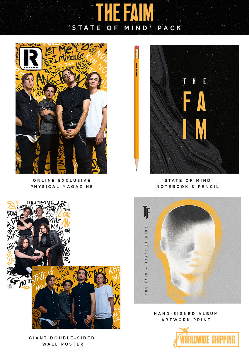 Rock Sound Issue 256.2 - The Faim 'State Of Mind' Pack - Rock Sound Shop
