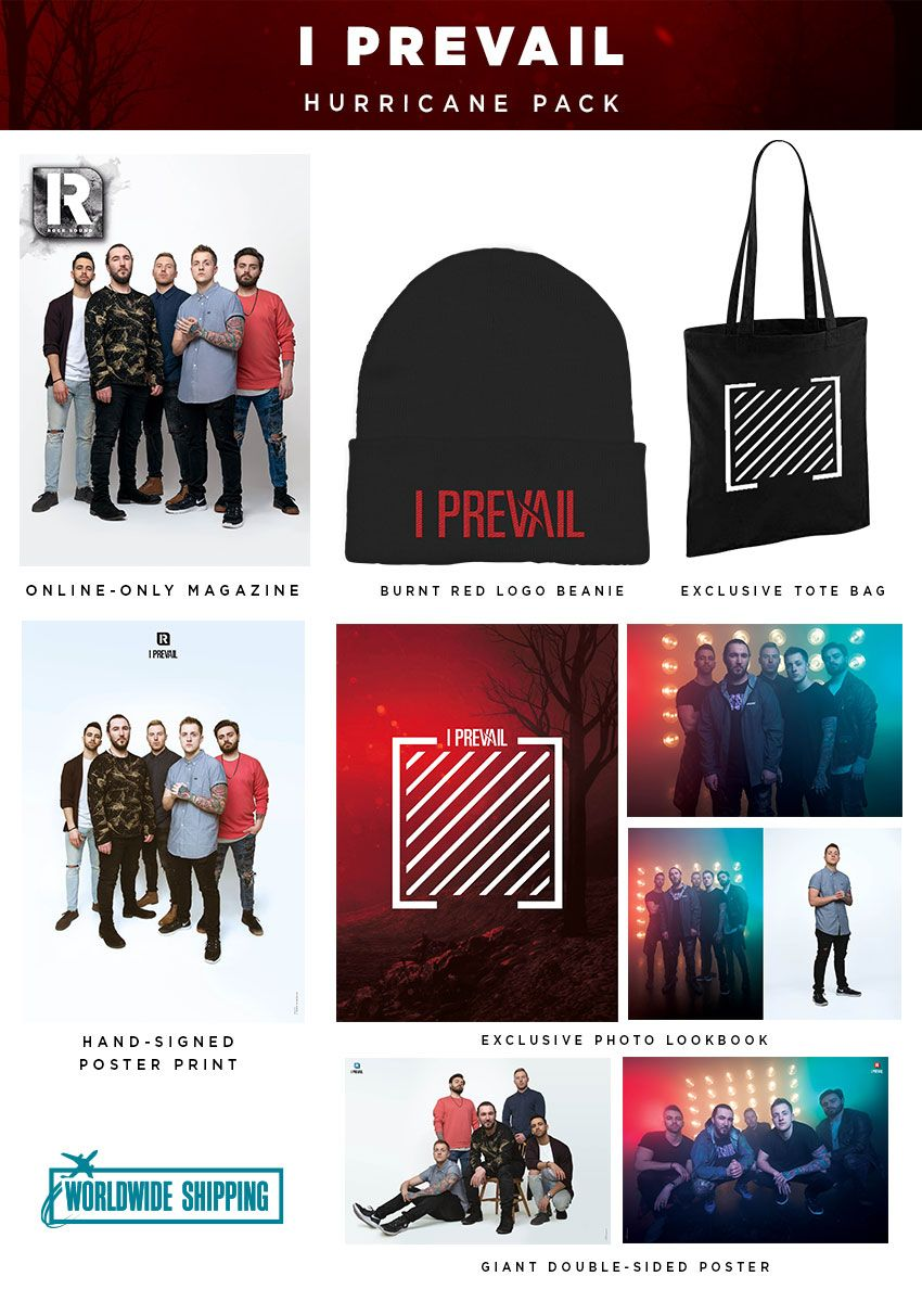 Rock Sound Issue 264.1 - I Prevail Hurricane Pack - Rock Sound Shop