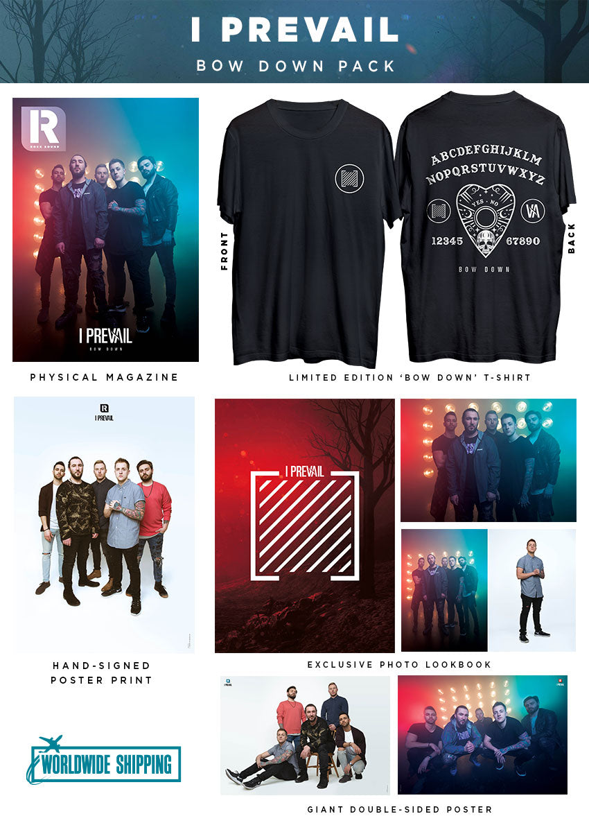 Rock Sound Issue 264.2 - I Prevail Bow Down Pack - Rock Sound Shop