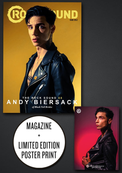 Rock Sound 228.2 with all new interview and photos of Andy Biersack / Black Veil Brides