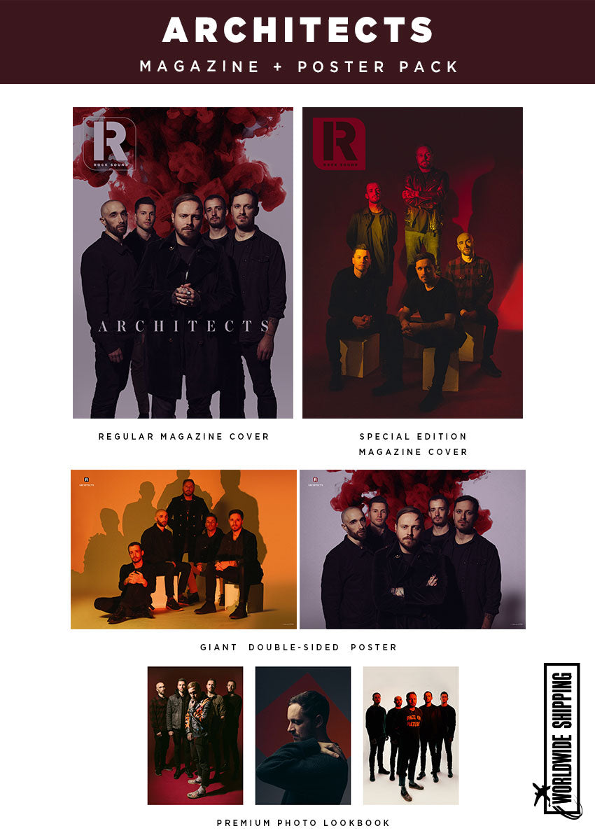 Rock Sound Issue 274.1 – Architects Magazine + Poster Pack