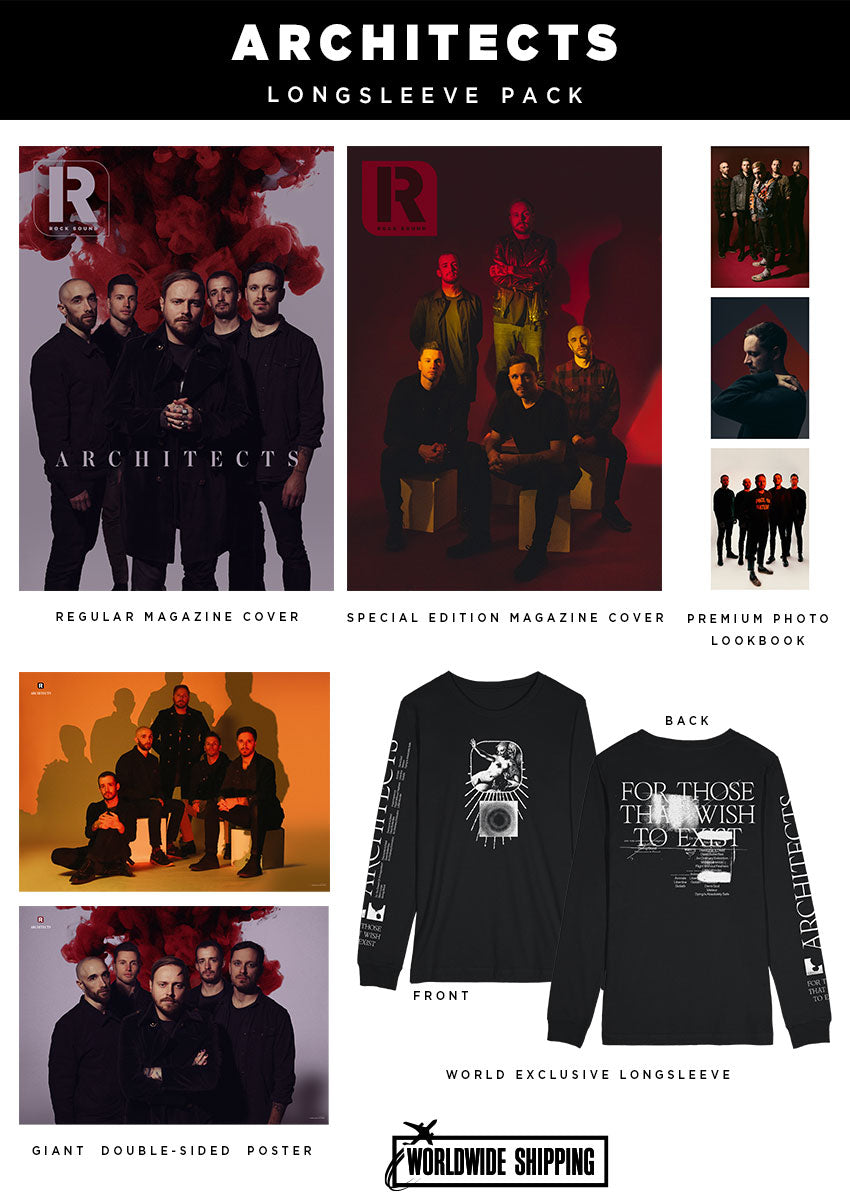 Rock Sound Issue 274.3 – Architects Longsleeve Pack