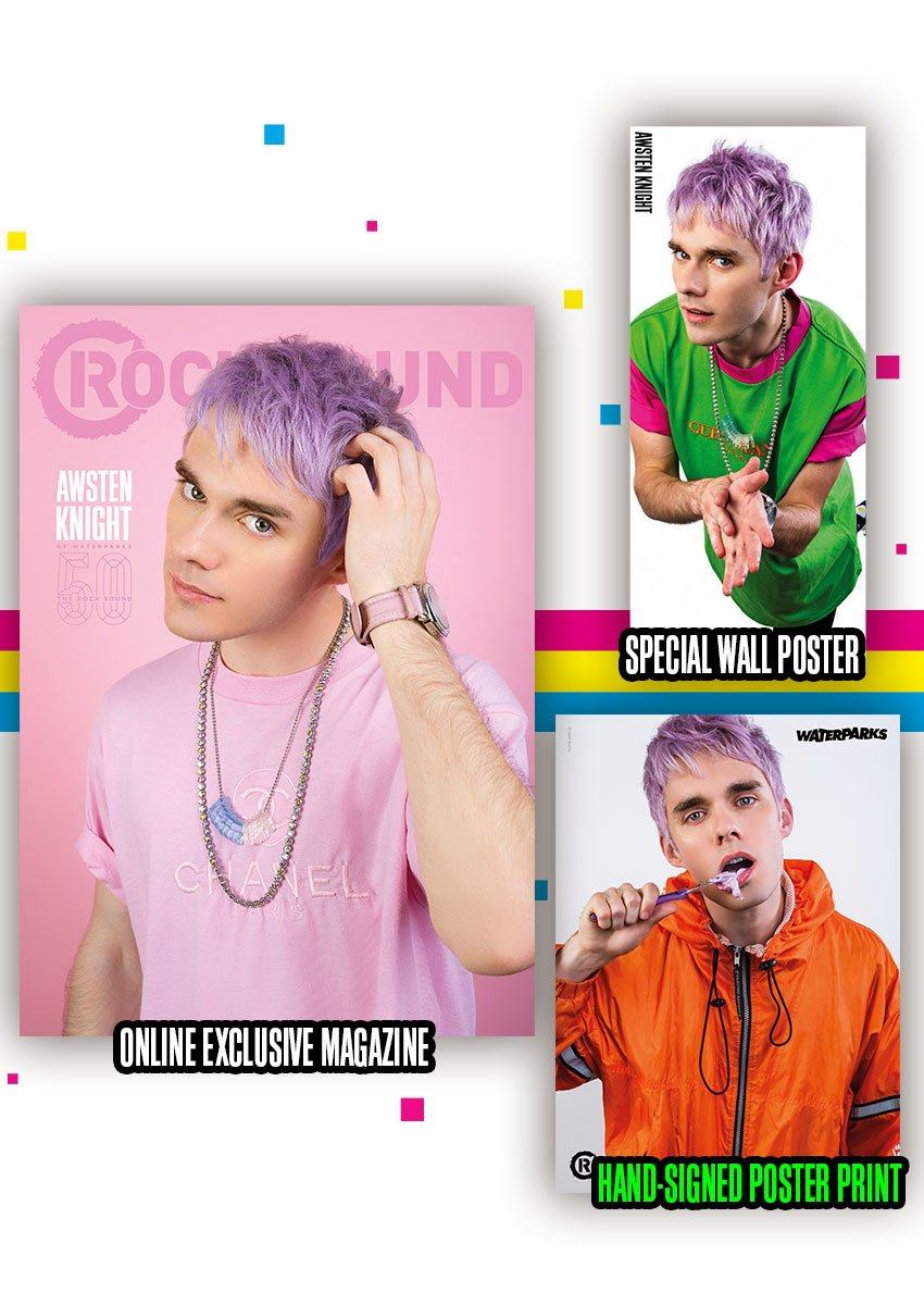Rock Sound Issue 241.8 - Awsten Magazine + Signed Poster Print - Rock Sound Shop
