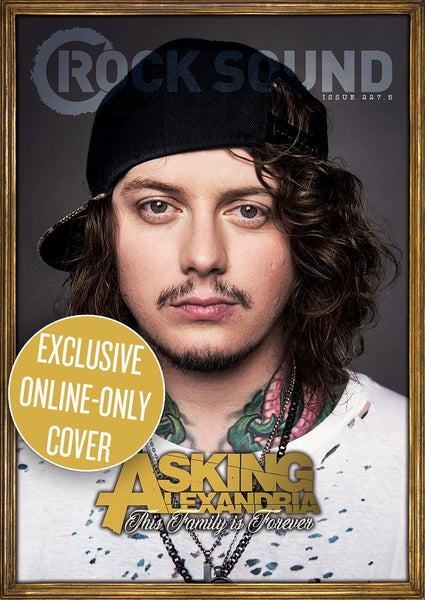 Rock Sound Issue 227.5 - Asking Alexandria (Ben Cover)