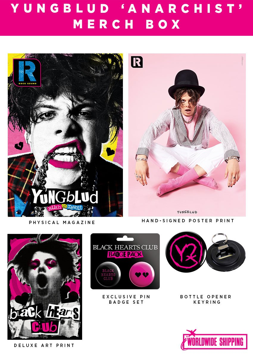 Rock Sound Issue 248.1 - Yungblud Anarchist Merch Box - Rock Sound Shop