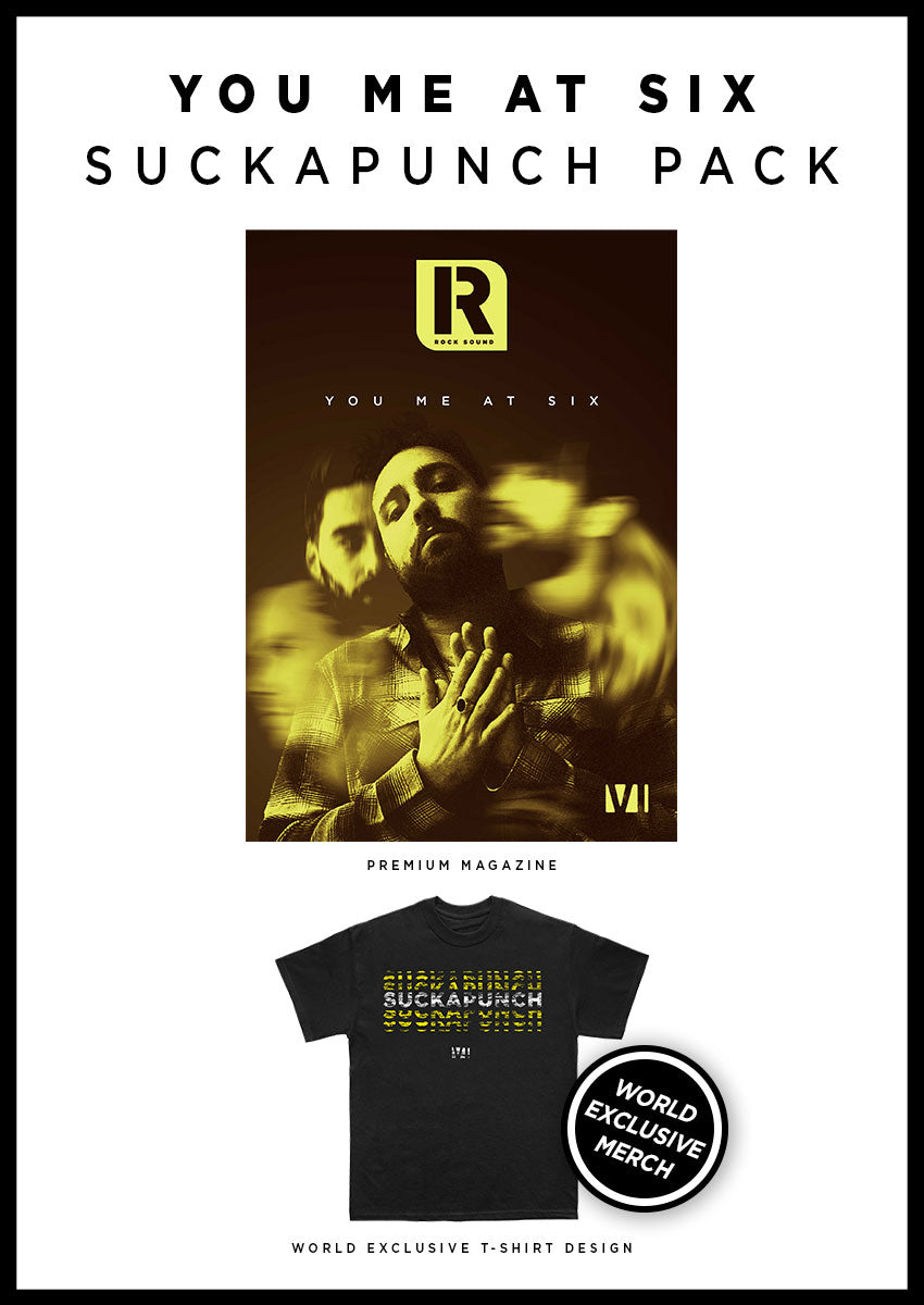 You Me At Six: Magazine + T-Shirt Pack