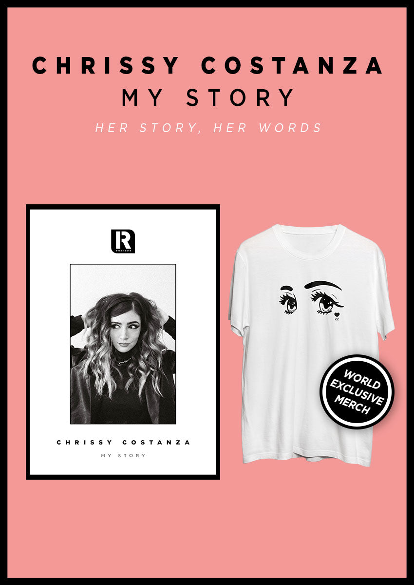 Chrissy Costanza: My Story Magazine + T-Shirt Pack - Rock Sound Shop