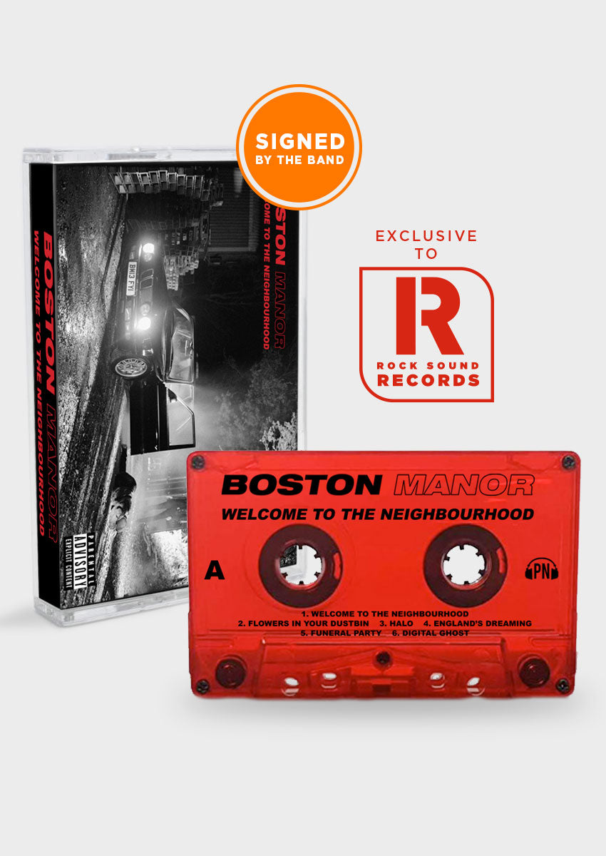 Boston Manor - 'Welcome To The Neighbourhood' Signed Cassette LP
