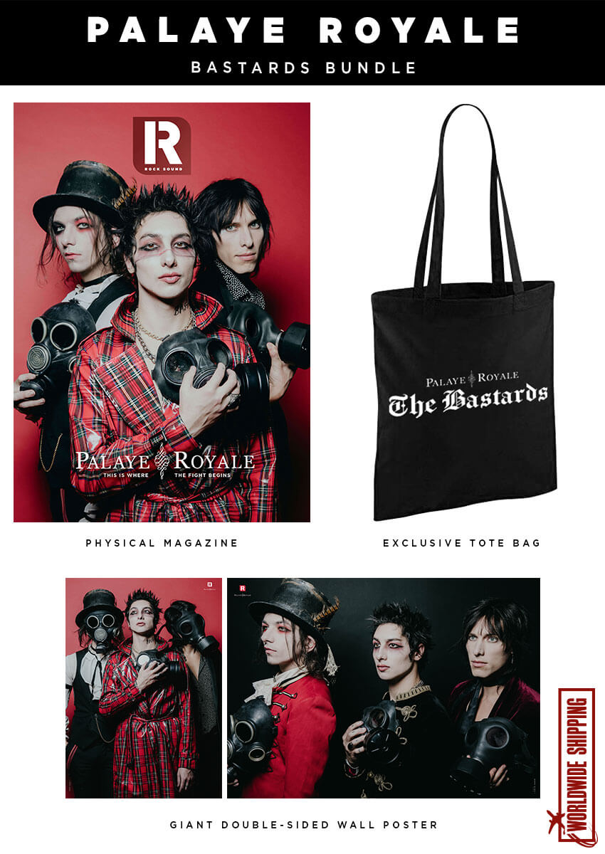 Rock Sound Issue 259.1 - Palaye Royale Bastards Bundle