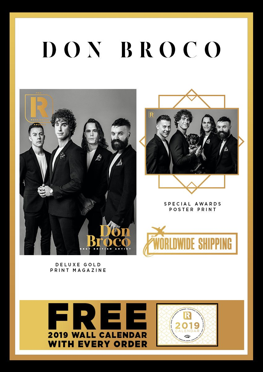 Rock Sound Awards 247.2 - Don Broco - Rock Sound Shop